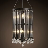 Светильник Midlight Verona Crystal Chandelier 15-D6075-S